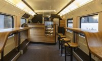 Another Coffee Bar on a Train
