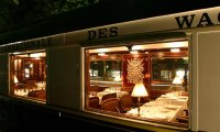 Dining car in the Orient Express